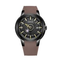 Grey men's private label watches-