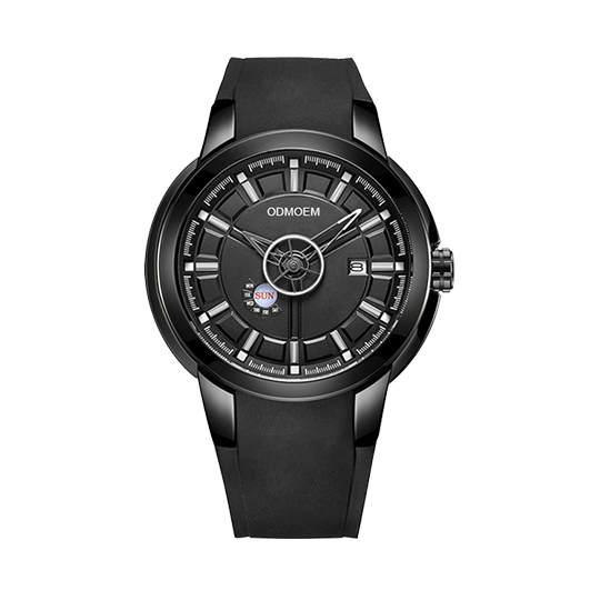 black men's private label watches